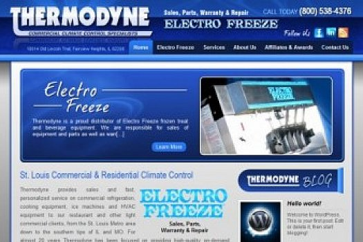 St. Louis Web Design for Climate Control Specialists