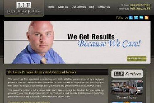 St. Louis Web Design for Fantastic St. Louis Attorney