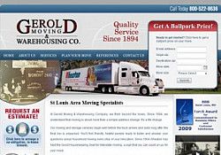 St. Louis Web Design for Gerold Moving