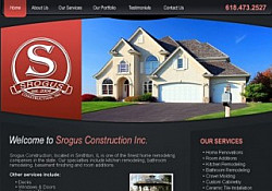 St. Louis Web Design for Srogus Construction Inc.
