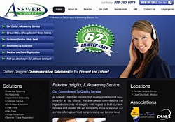 St. Louis Web Design for Answer Direct