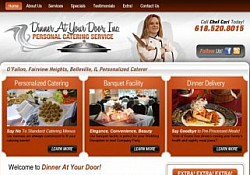St. Louis Web Design for Dinner At Your Door, PCS
