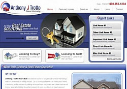 St. Louis Web Design for Anthony J. Trotto Real Estate