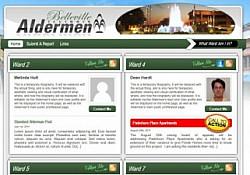 St. Louis Web Design for the Alderman of Belleville Illinois