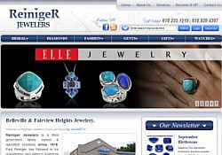 St. Louis Web Design for Reiniger Jewelers