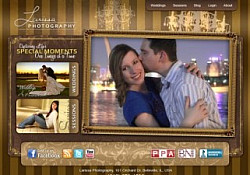 St. Louis Web Design for Larissa Photography
