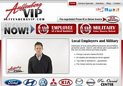 St. Louis Web Design for Auffenberg Dealer Group