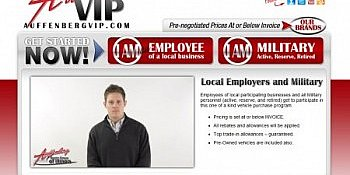 St. Louis Web Design for Auffenberg Dealer Group